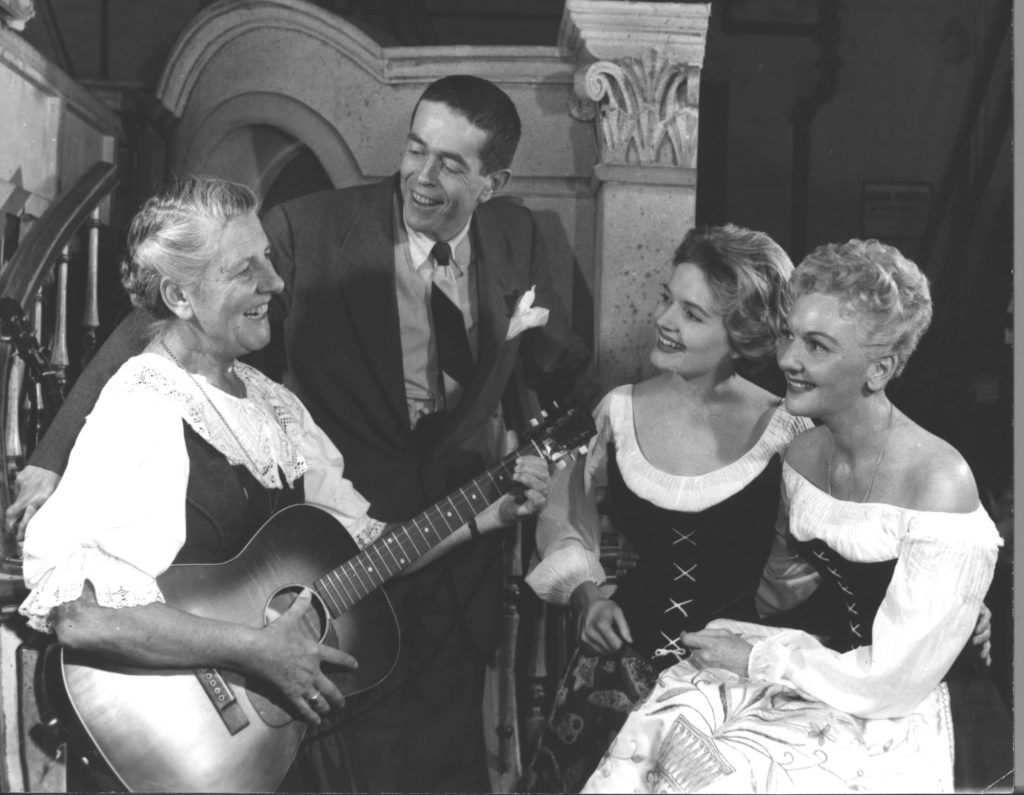 A photo from the 1961 US National Tour production of The Sound of Music.