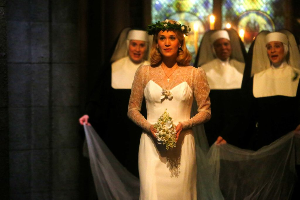 A photo from the 2013 television broadcast of The Sound of Music.