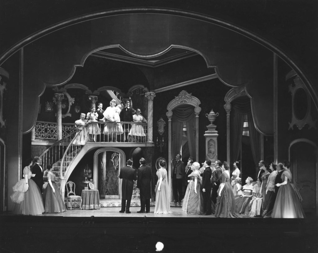 A photo from the 1959 Broadway production of The Sound of Music.
