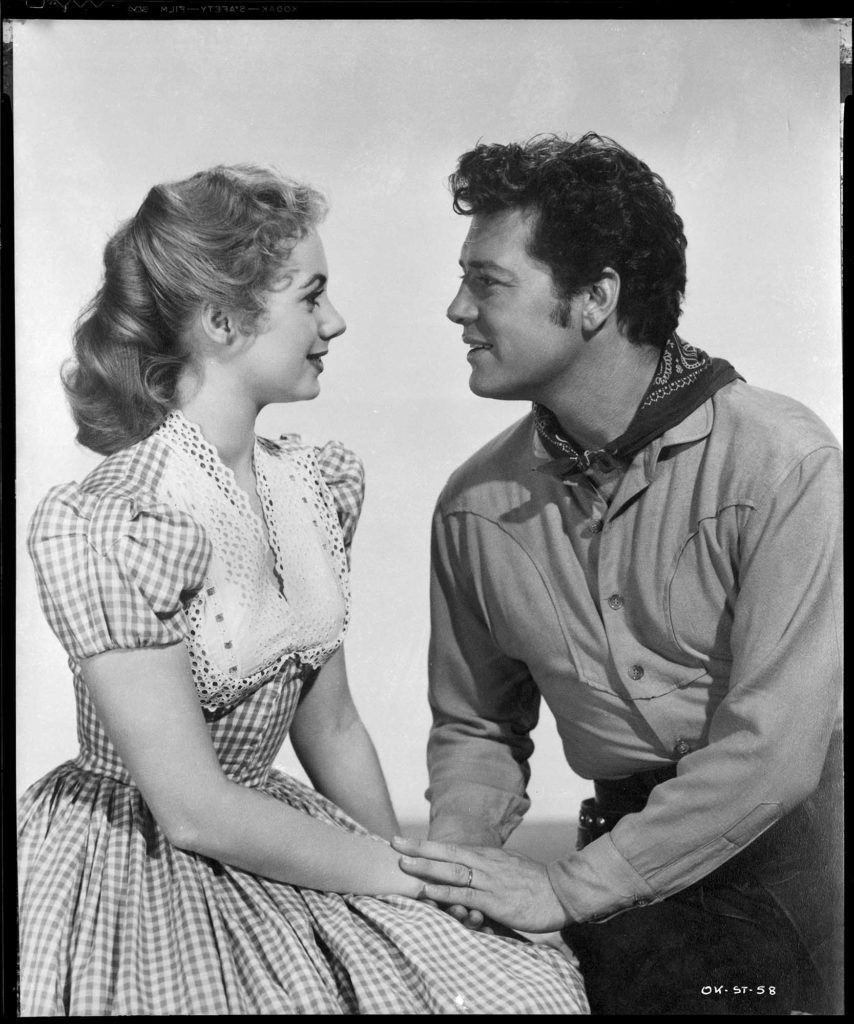A photo from the 1955 Oklahoma! film.