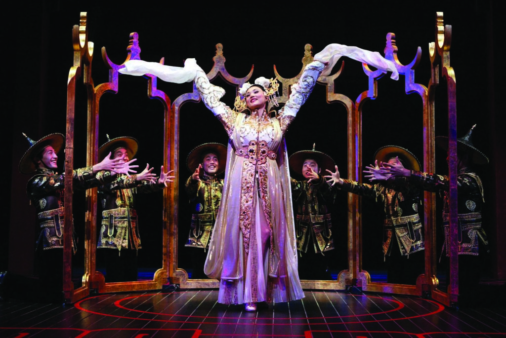 A photo from the 2002 Broadway production of Flower Drum Song.