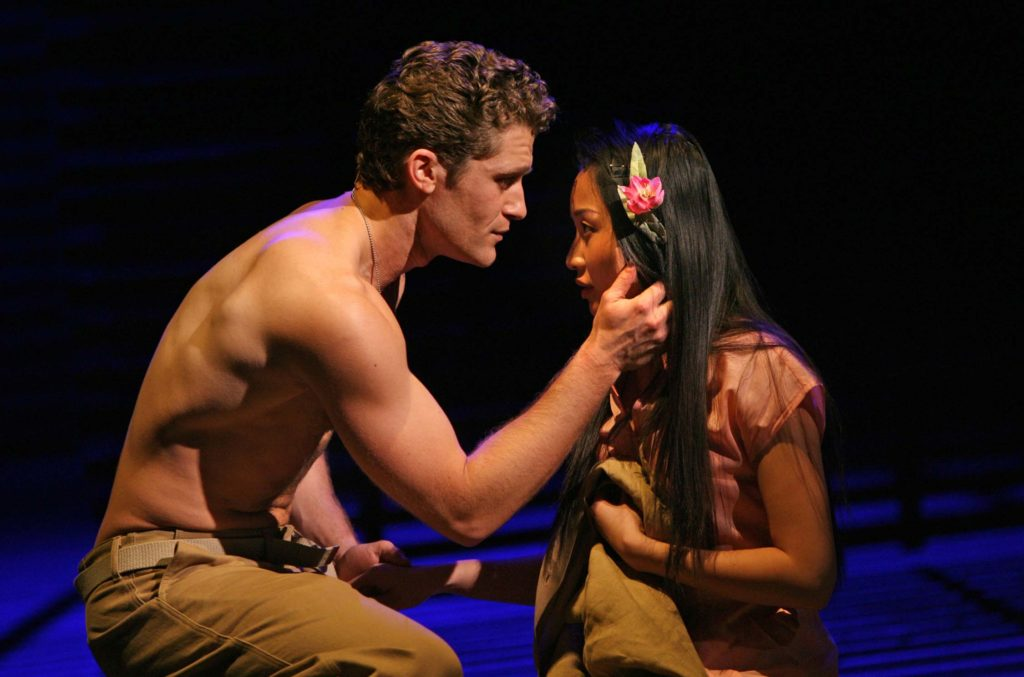 A photo from the 2008 Lincoln Center Theater production of South Pacific.